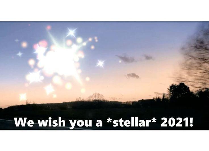 Wishing you a *stellar* 2021!